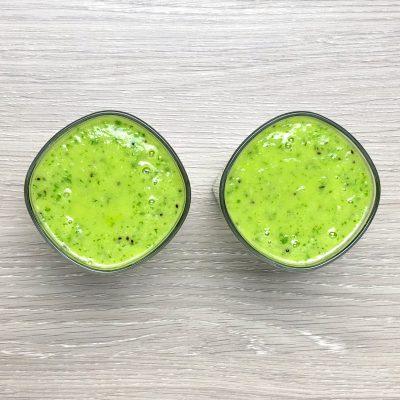 Energetyzujący zielony koktajl