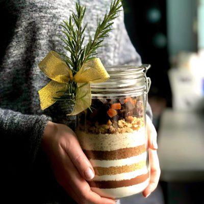 Pierniczkowe muffinki świąteczne